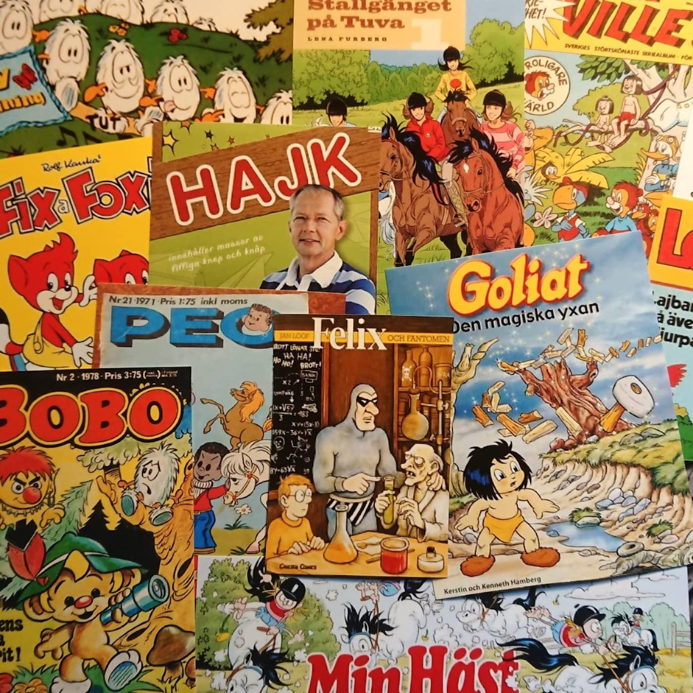 Om svenskproducerade barnserietidningar 1
