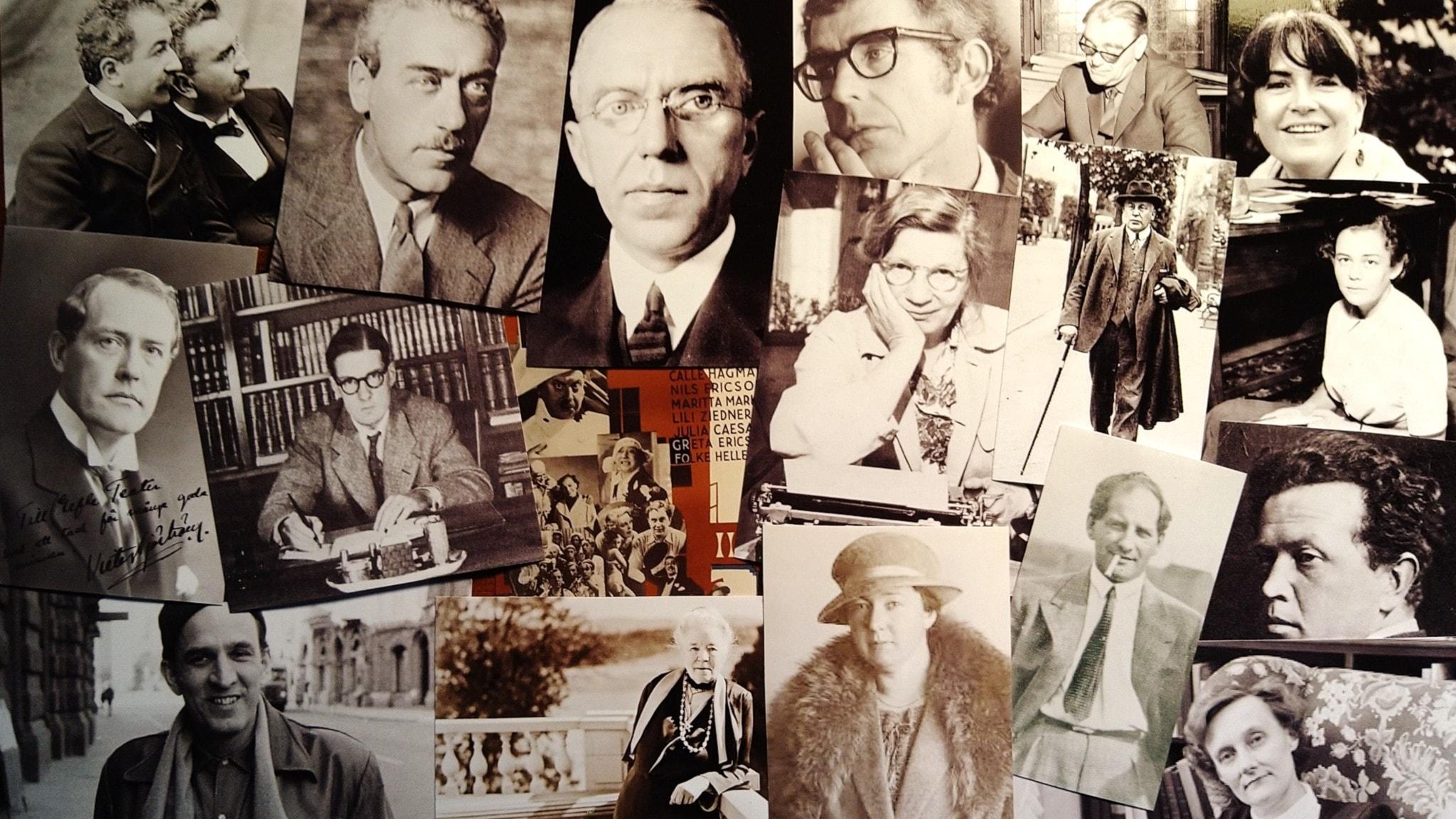 Bilden är ett collage av personer som nämns i avsnittet.