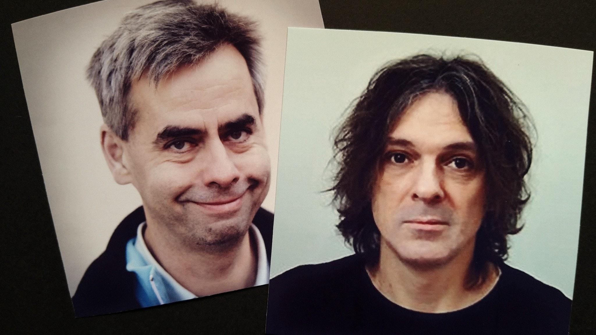 Bilden visar Martin Jonols och Ludvig Josephson.