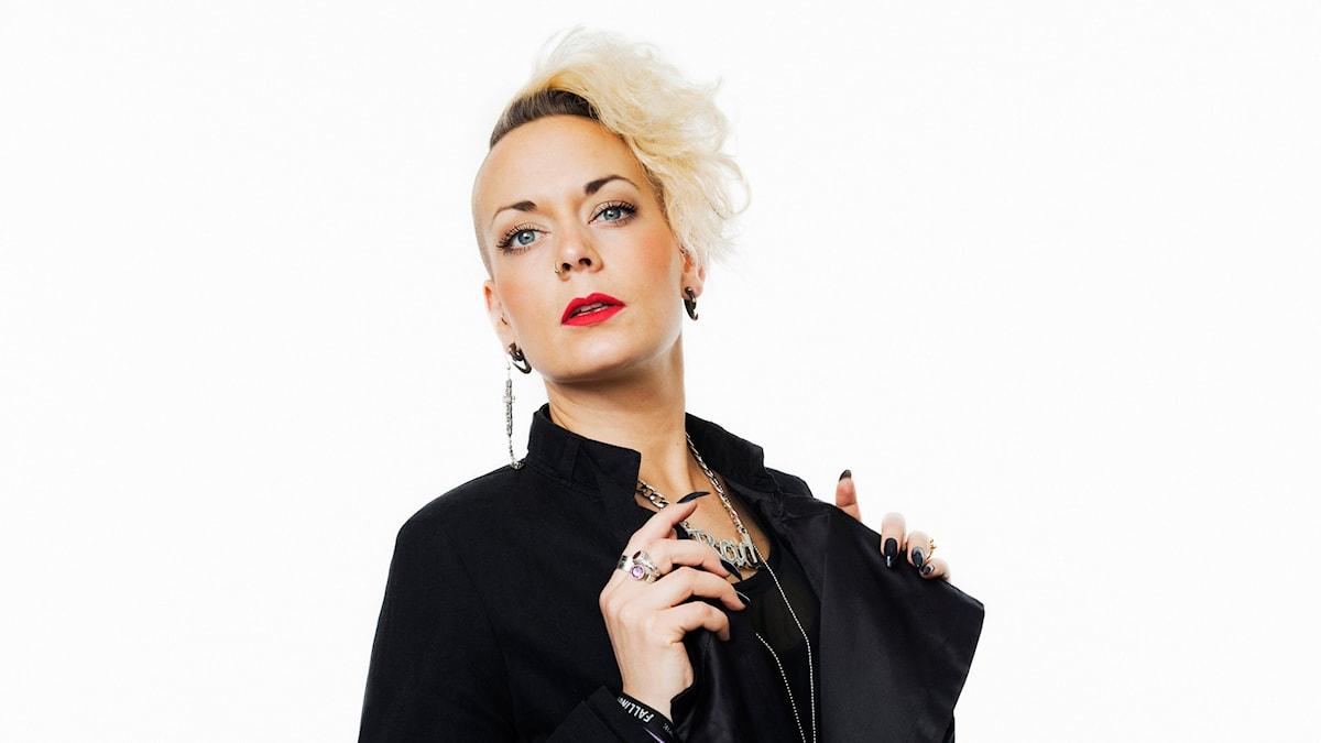 Sanna Bråding. Foto: Mattias Ahlm/Sveriges Radio.