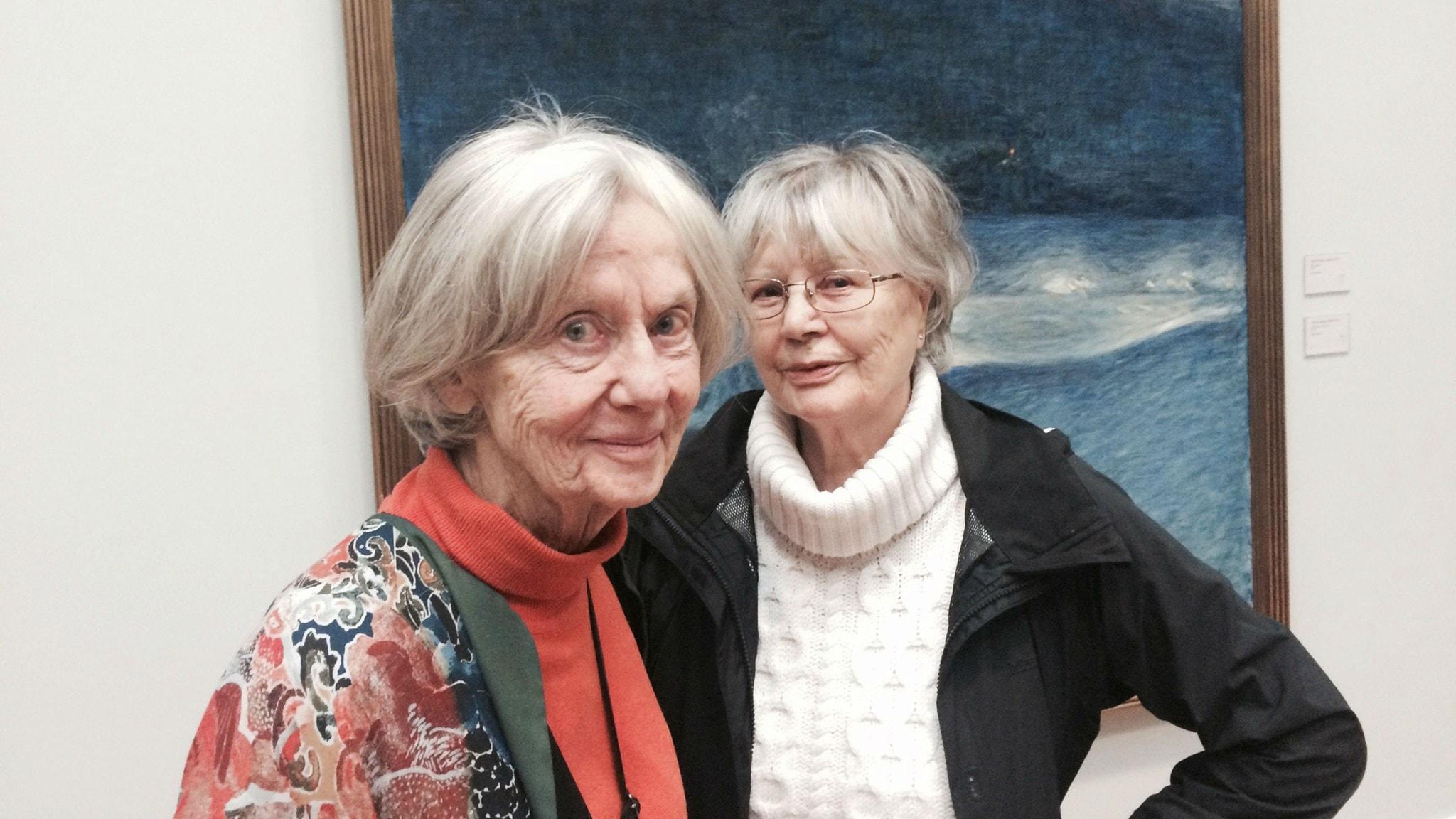 Inga Landgré och Harriet Andersson. Foto: Lisa Bergström