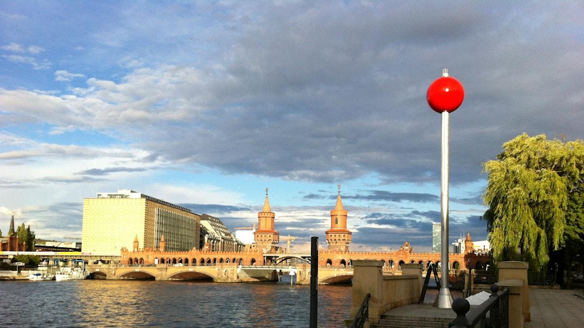 Himmel över Berlin. Foto: Katarina Wikars