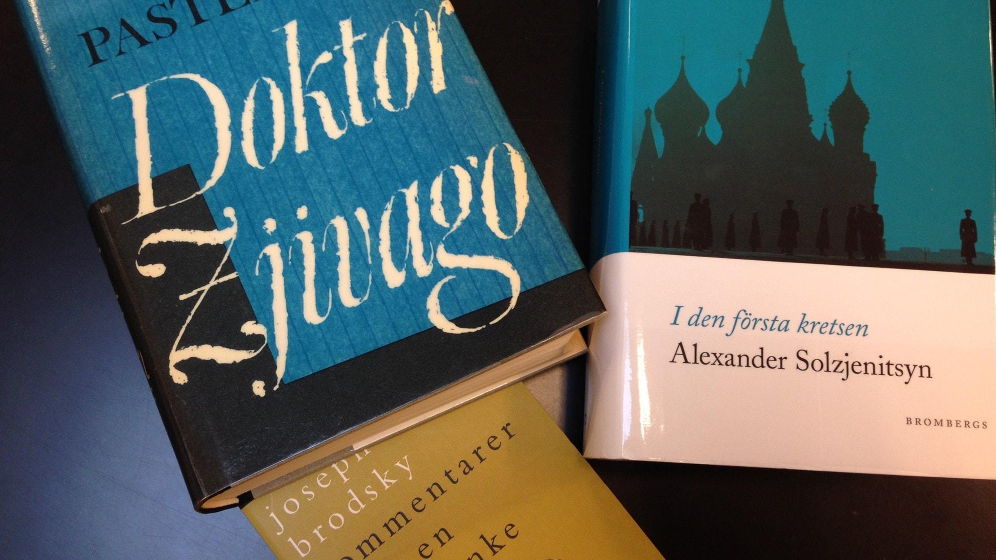 Böcker av ryska Nobelpristagare