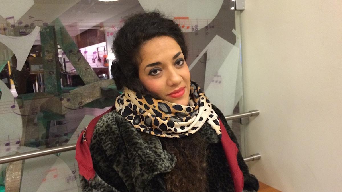 Athena Farrokhzad Foto Mia Gerdin SR