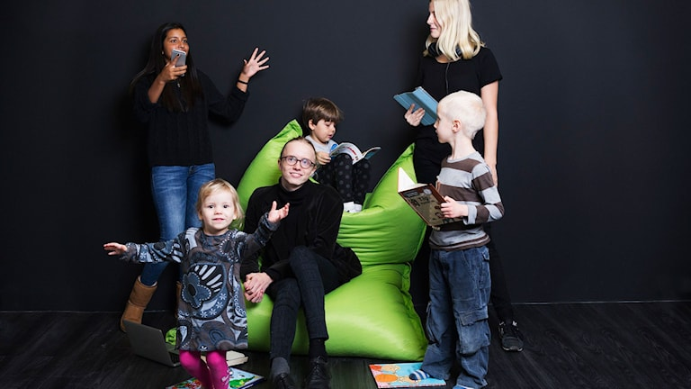 Barnens kultur i P1 Foto: Mattias Ahlm/Sveriges Radio