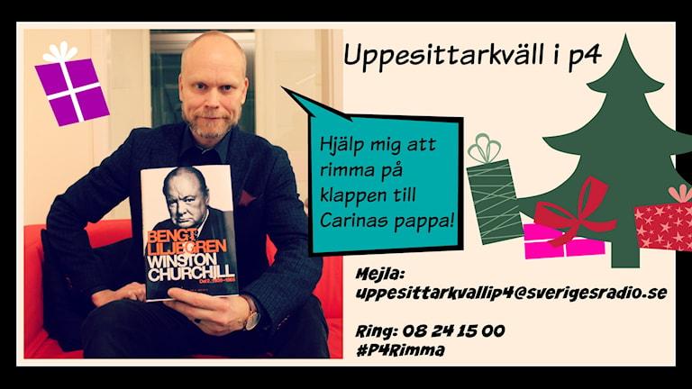 Uppesittarkväll i P4 2014. Kristian Luuk. Sveriges Radio P4. Foto: Ronnie Ritterland/Sveriges Radio