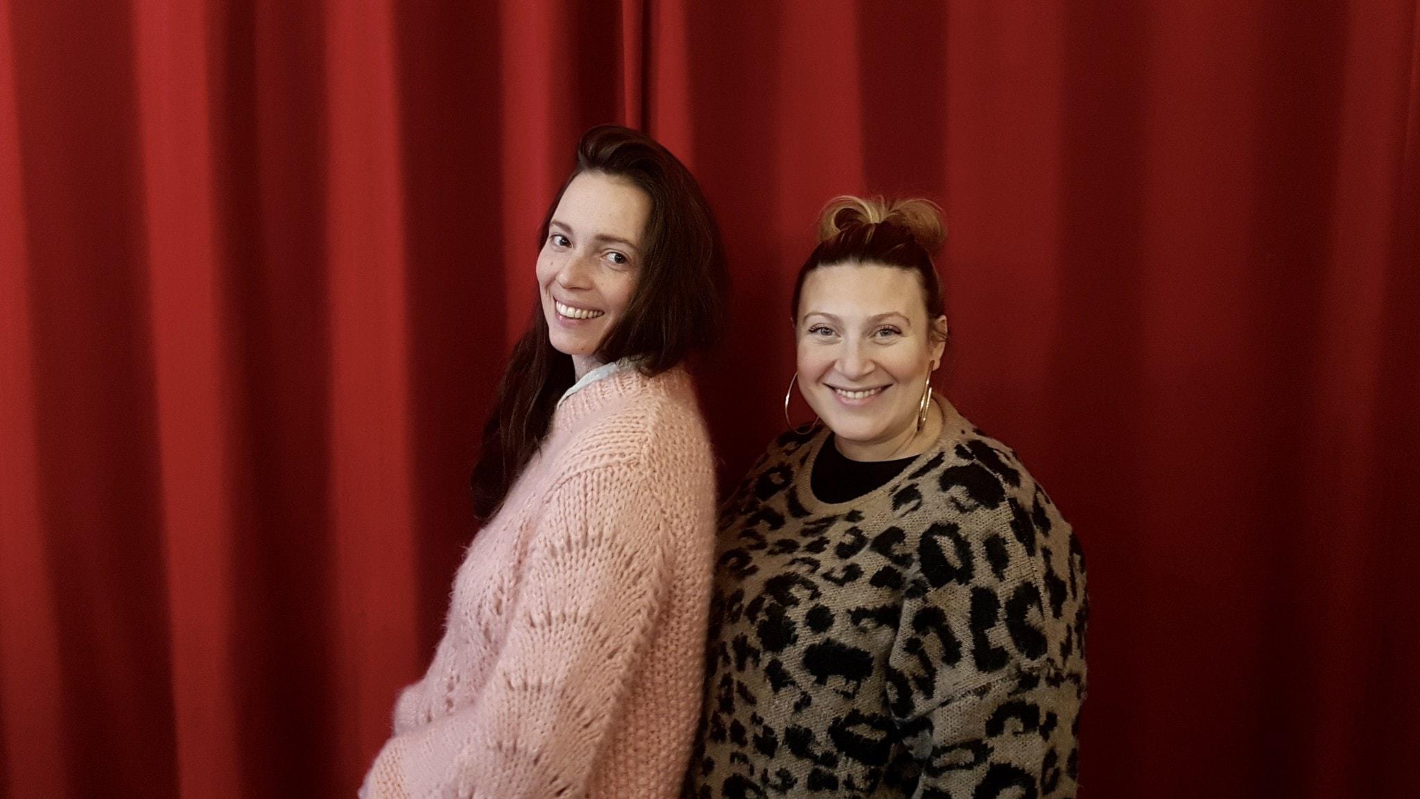 Marika Willstedt och Sarah Dawn Finer