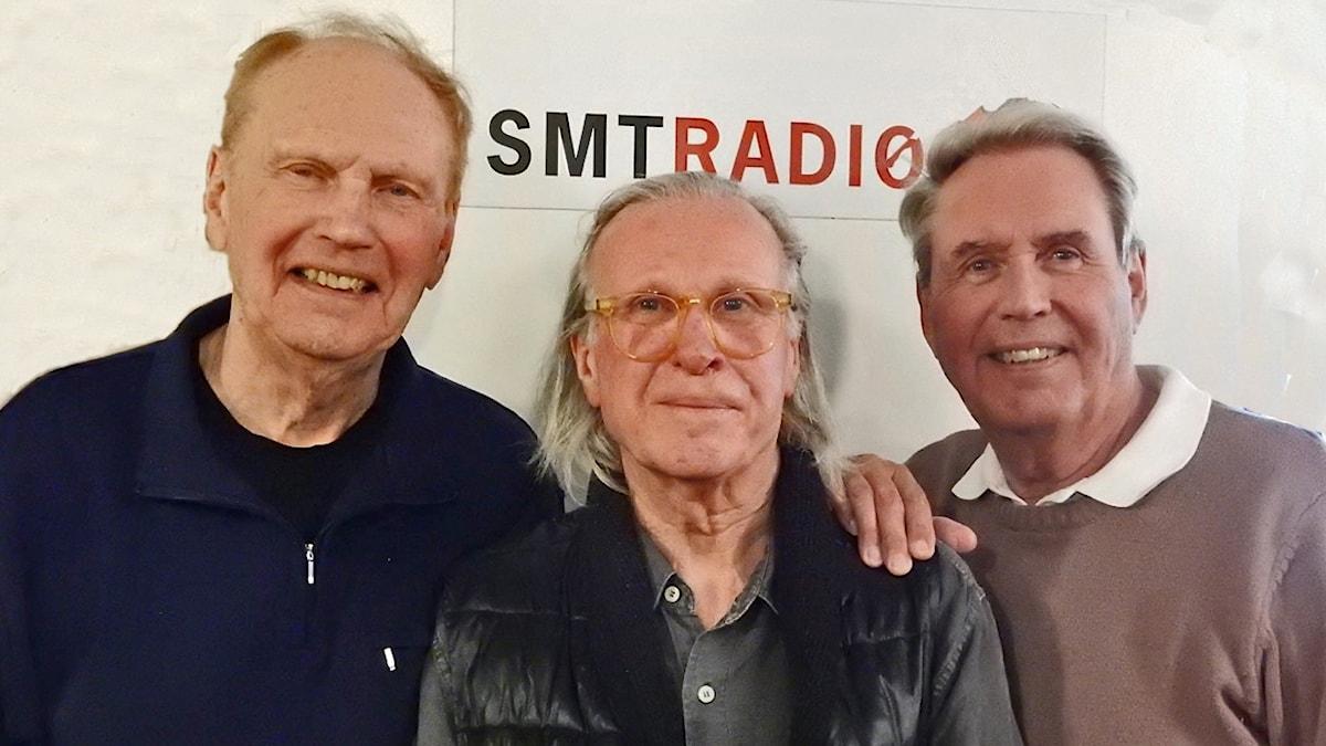 Ebbe Nilsson, Larsåke Thuresson och Sten Nilsson.