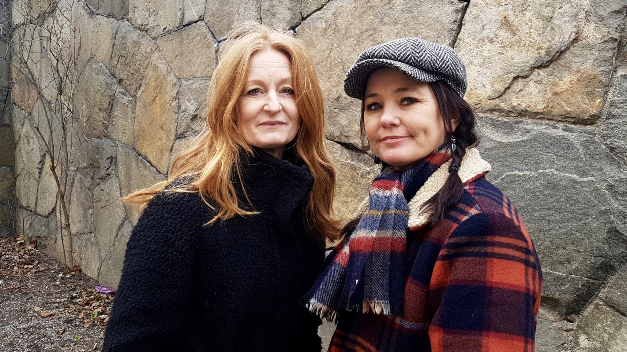 Anna Stadling och Sophie Zelmani