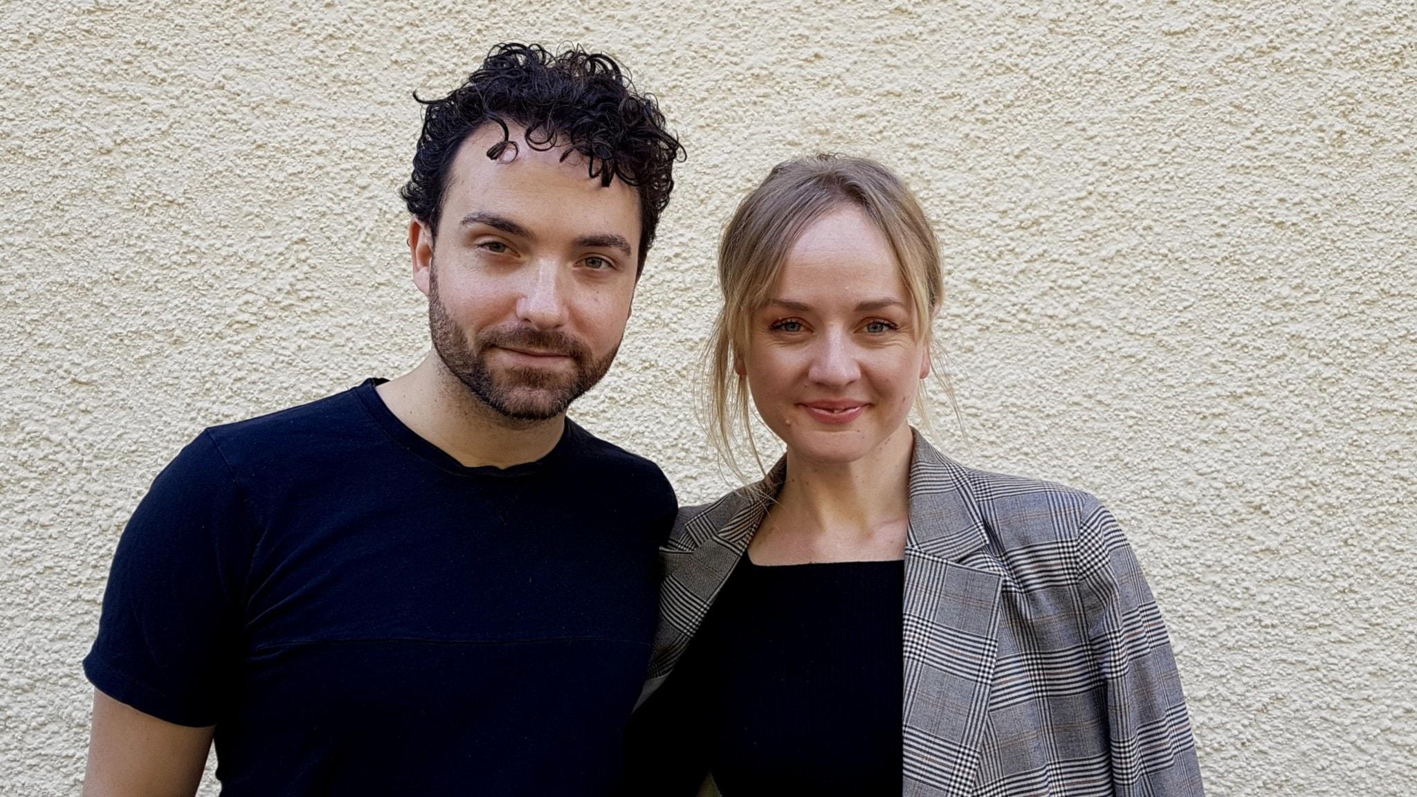Zain Odelstål och Anna Bergendahl.