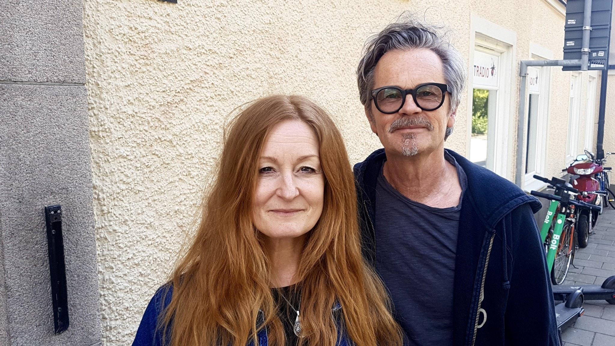 Anna Stadling och Anders Glenmark