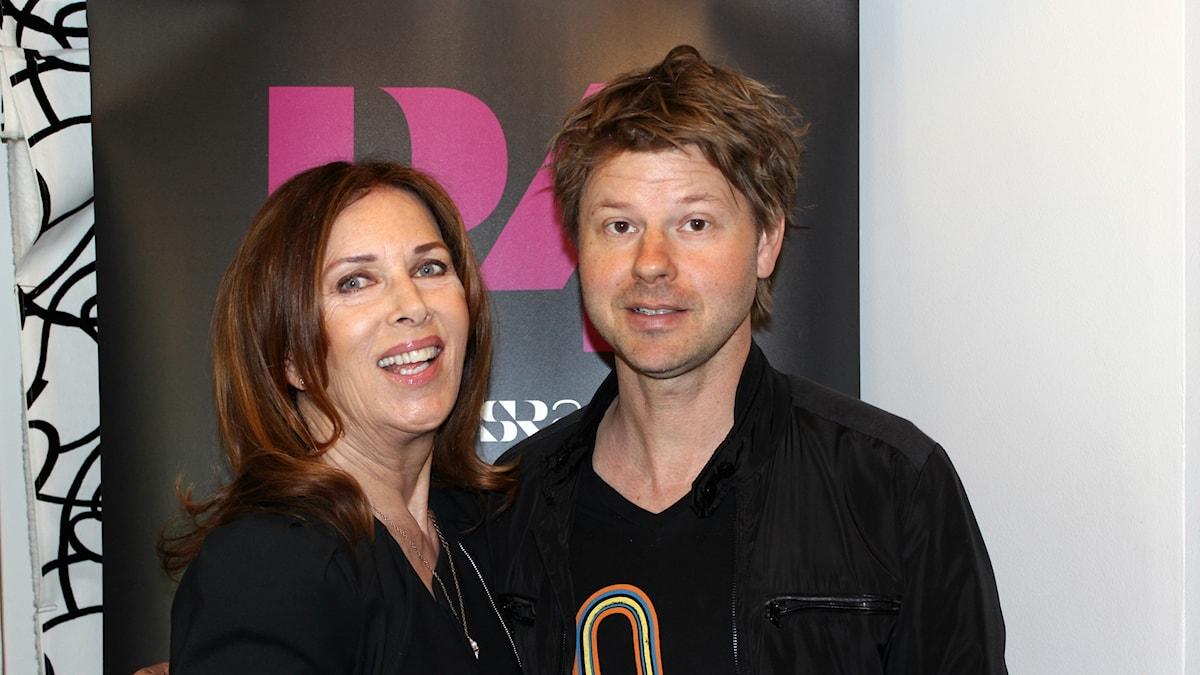 Sylvia Vrethammar och Magnus Lindgren.