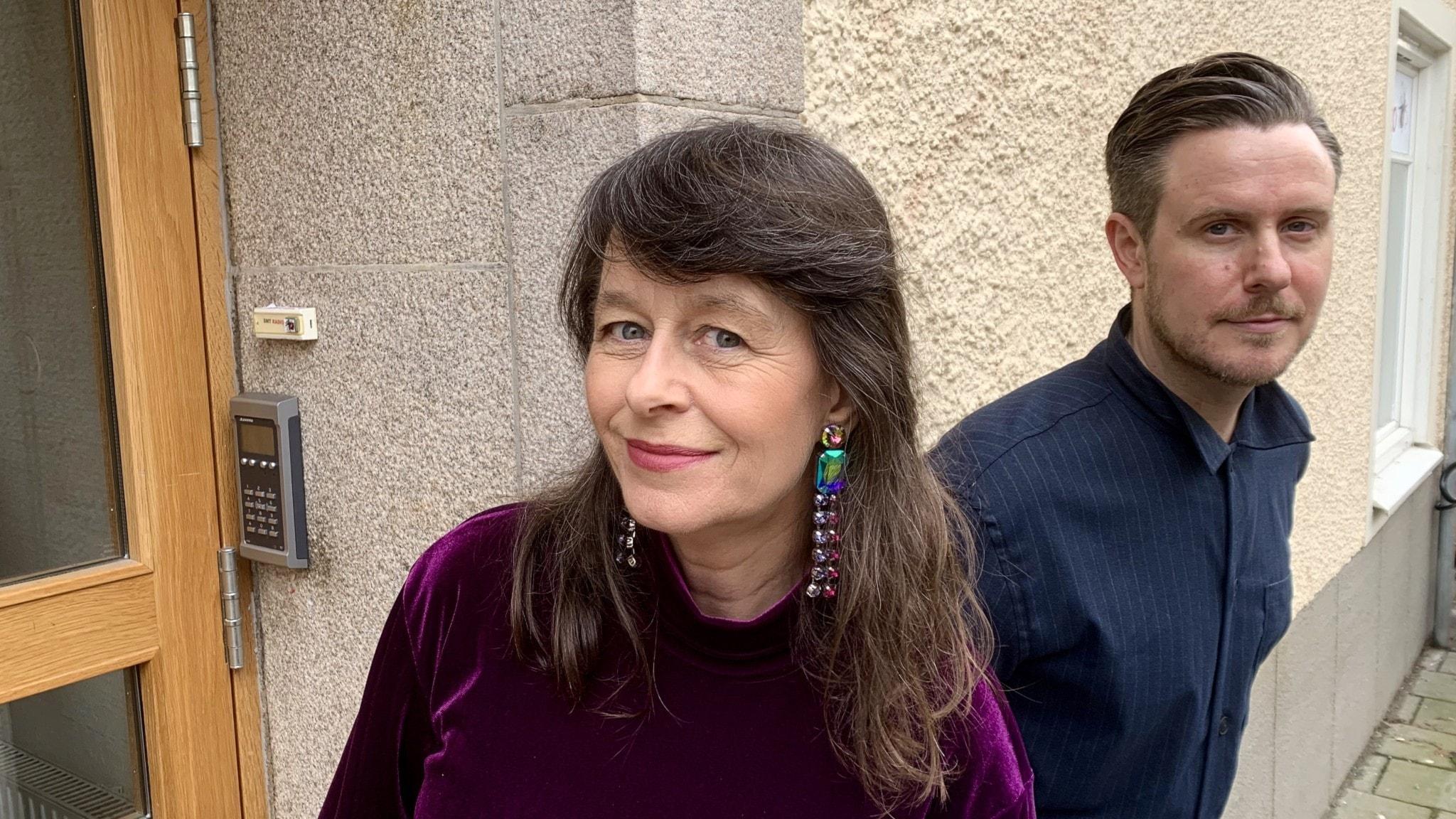 Anna Charlotta Gunnarson och Ronny Larsson