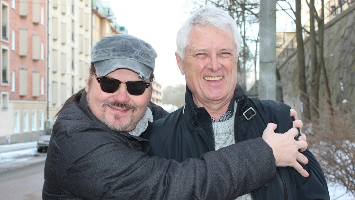 Anders Tengner och Claes-Göran Hederström. Foto: Linda Aktén