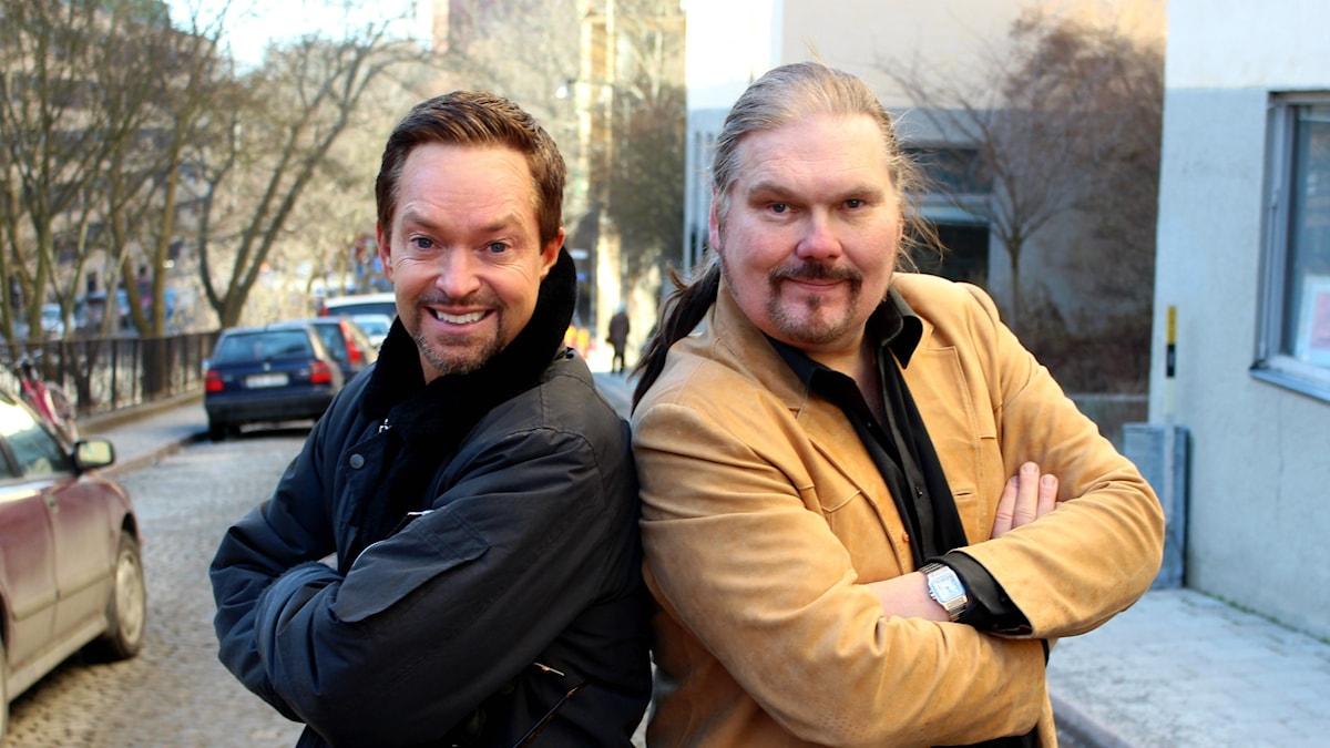 Andreas Carlsson och Anders Tengner.