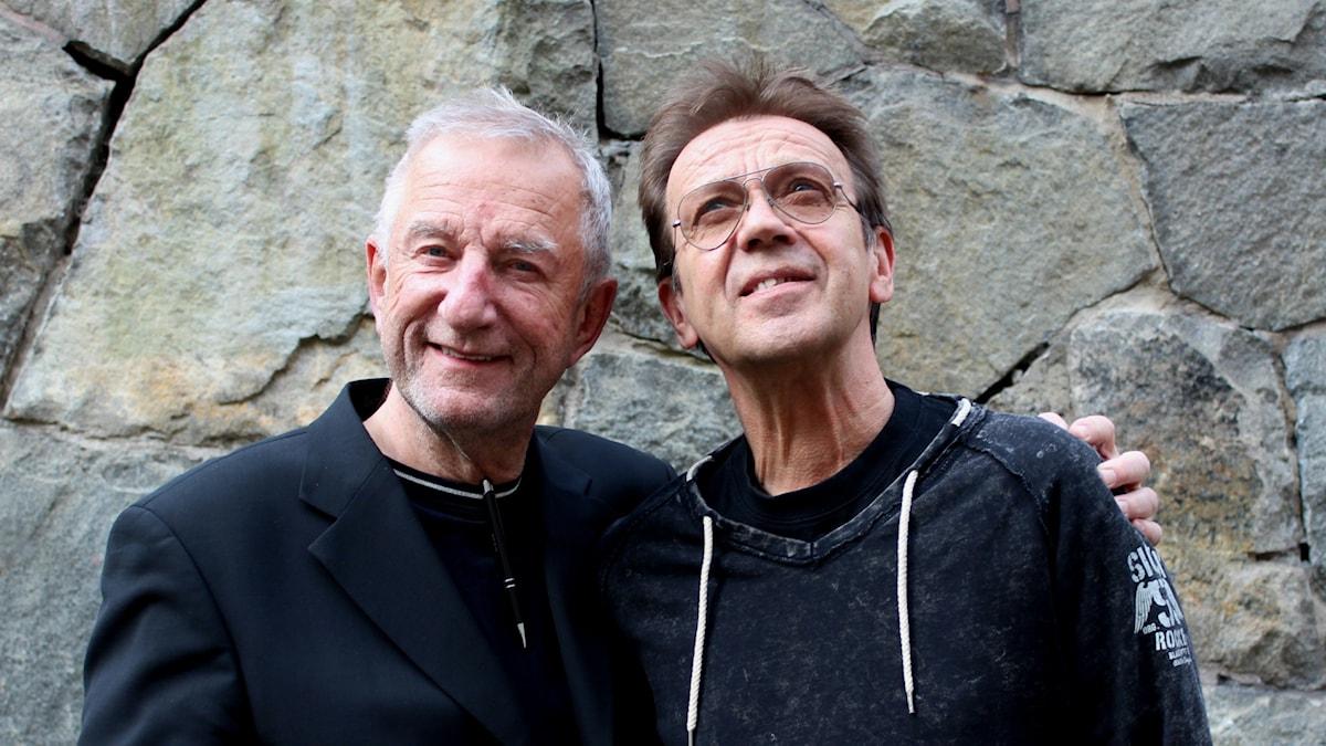 Björn Skifs och Bengt Palmers.