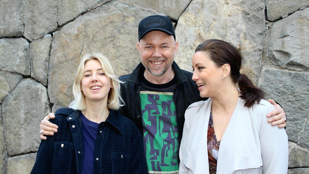 Veronica Maggio, Tomas Andersson Wij och Lisa Nilsson.