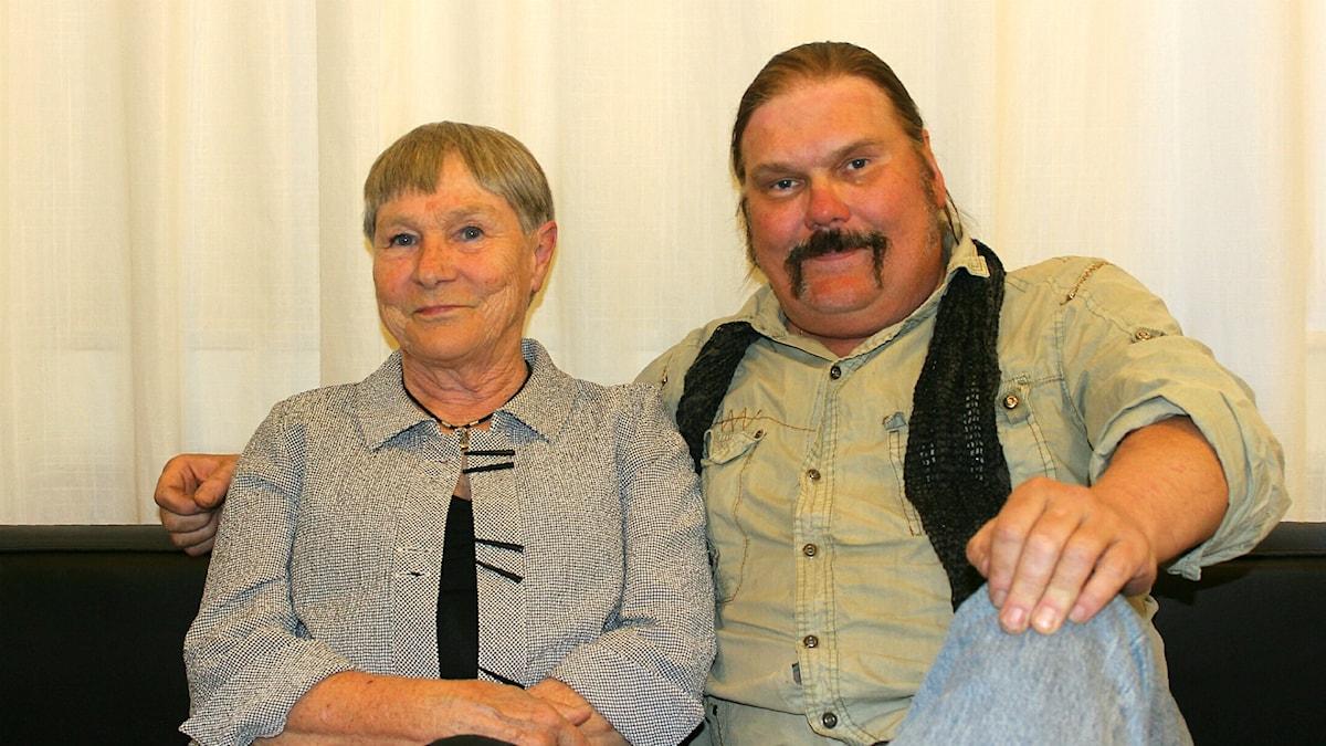 Anders Tengner och Kersti Adams-Ray