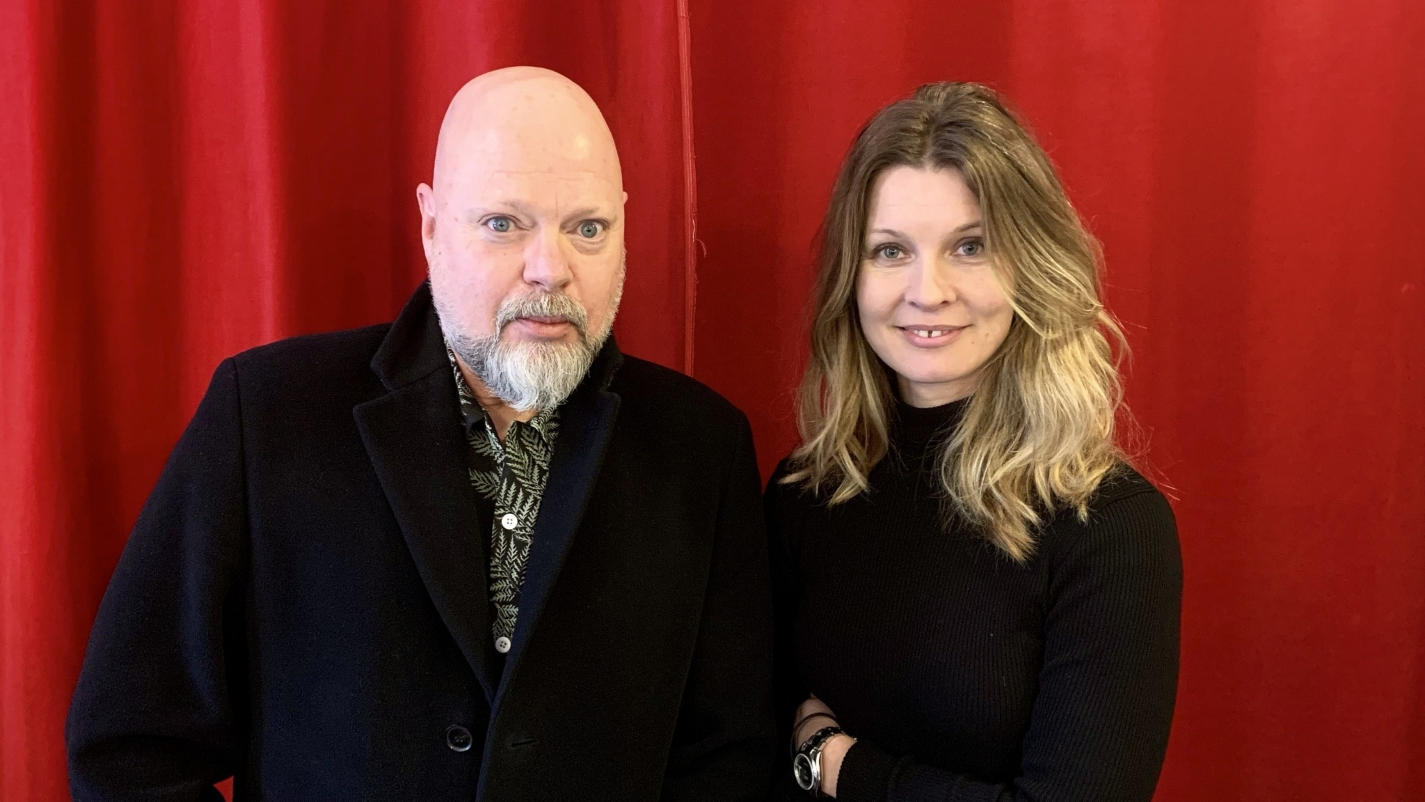 Peter LeMarc och Pernilla Andersson
