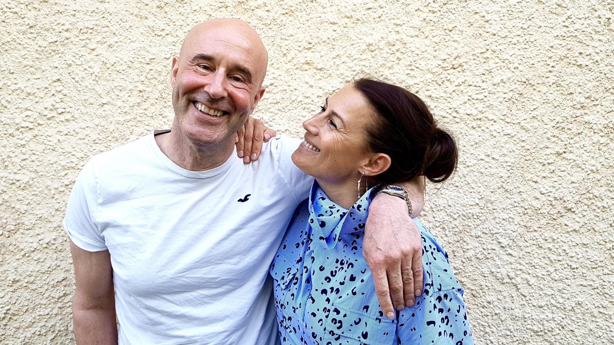 Mark Levengood och Jill Johnson
