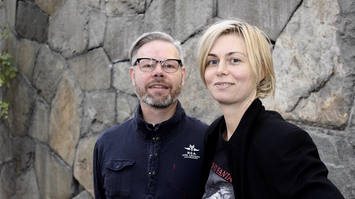 Andreas Dahlbäck och Anna Ternheim.