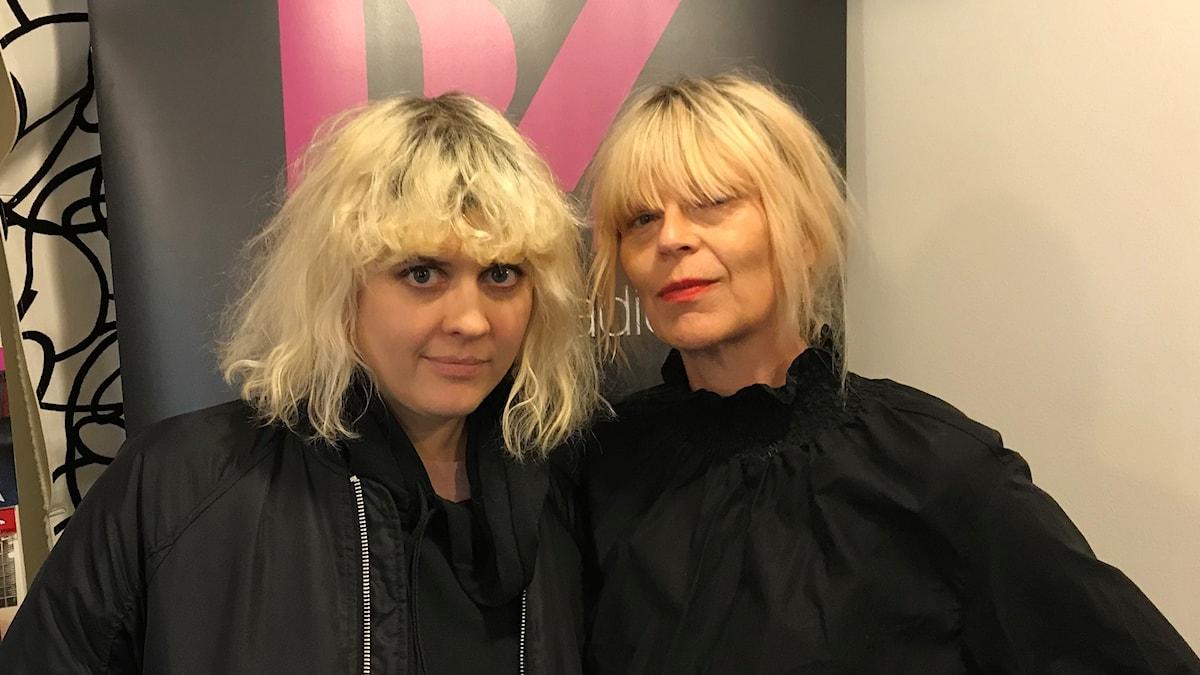 Sibille Attar och Kajsa Grytt.