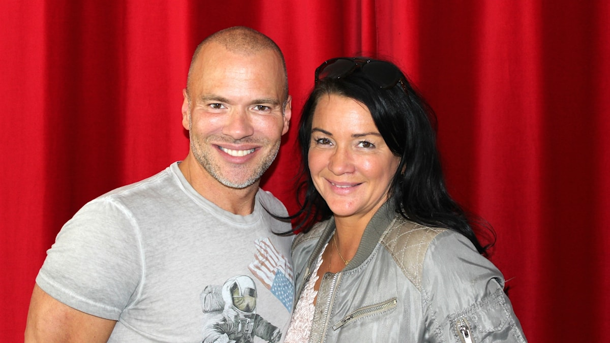 Andreas Lundstedt och Sofia Wistam.