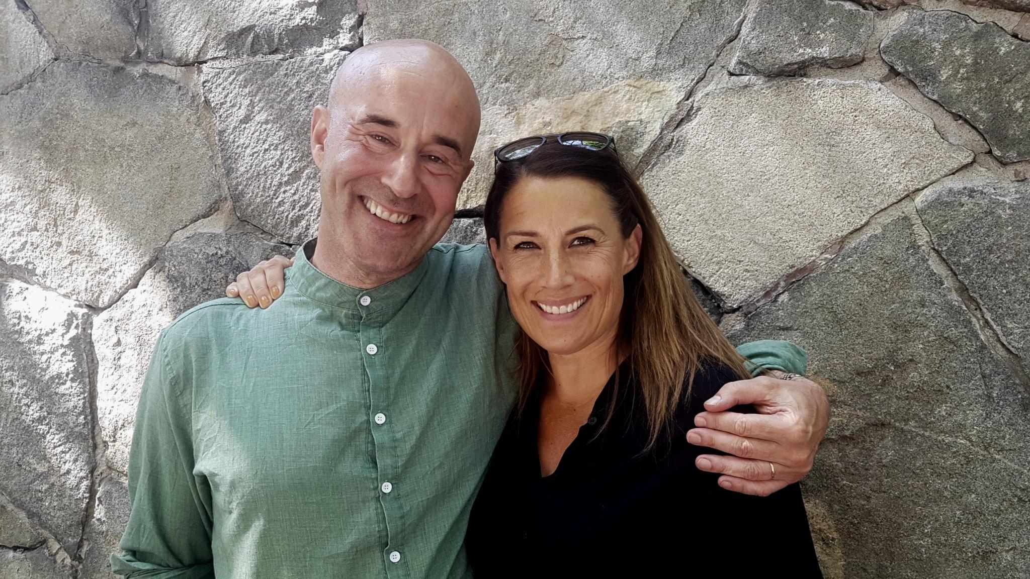 Mark Levengood och Jill Johnson.