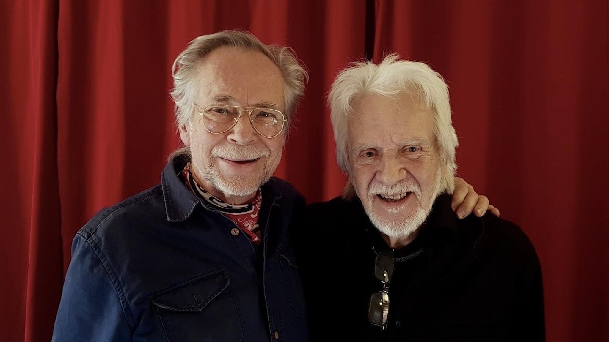 James Hollingworth och Roger Palm.