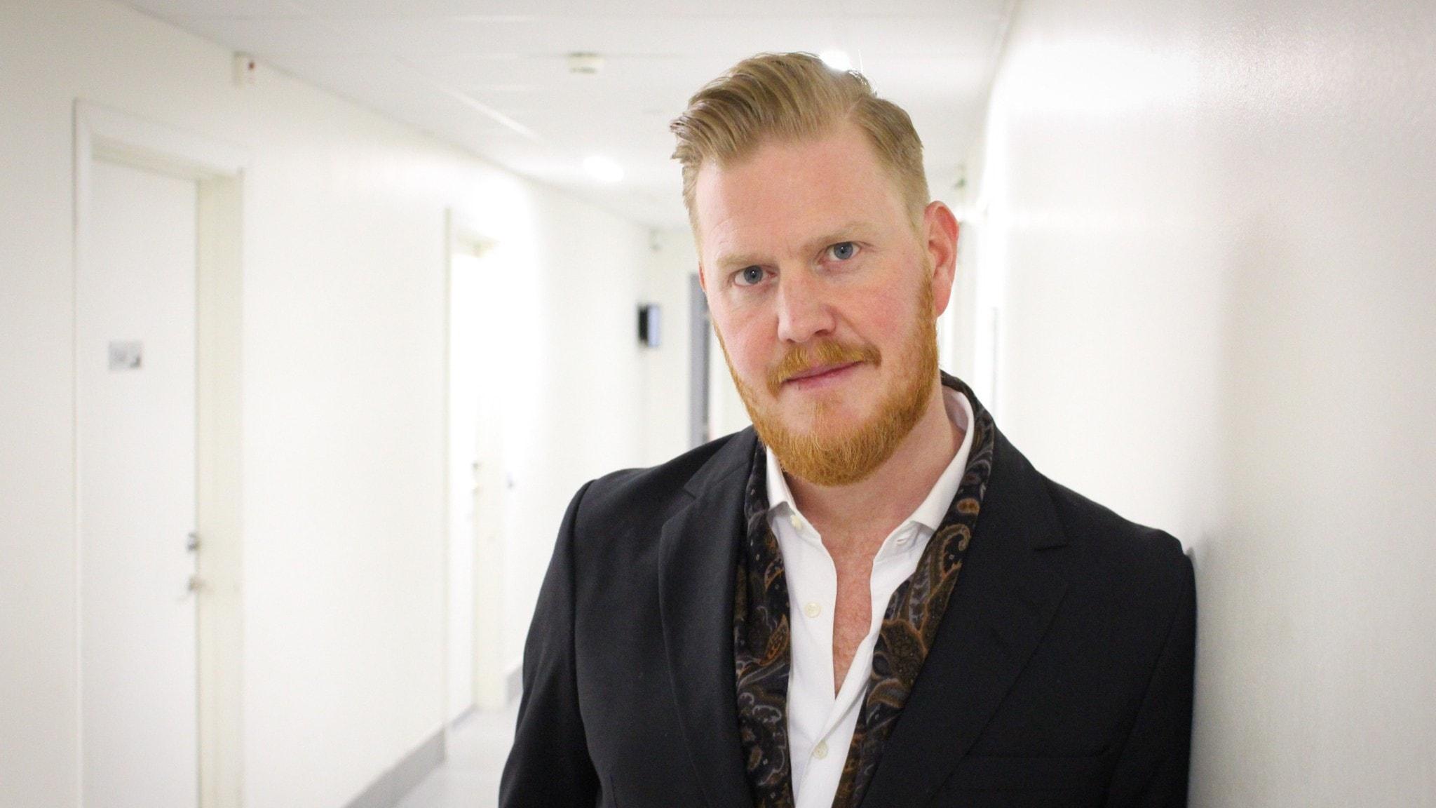 Oscar Magnusson i Sven-Ingvars