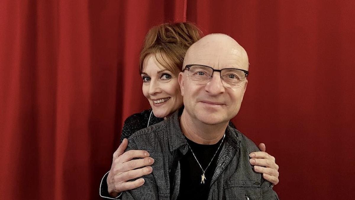 Anne-Lie Rydé och Jonas Gardell.