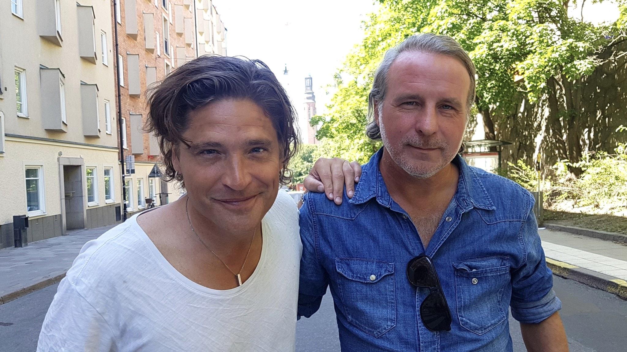 Andreas Johnson och Patrik Isaksson