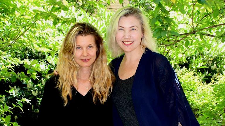 Pernilla Andersson och Elin Ruth Sigvardsson