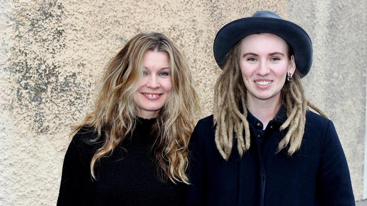Pernilla Andersson och Moa Lignell.