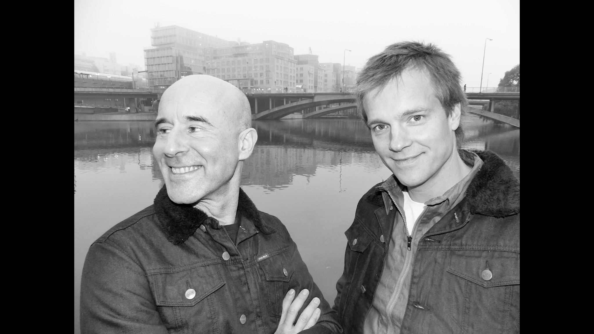 Mark Levengood och Henrik Johnsson. Foto: Pär Sundberg