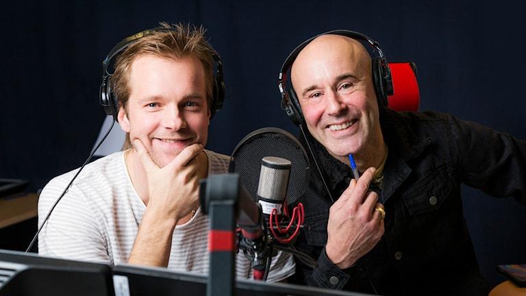 Men Herre Gud! Henrik Johnsson och Mark Levengood. Foto: Mattias Ahlm