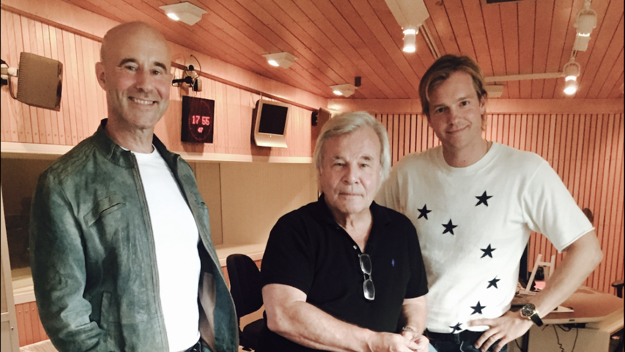 Mark levengood, Jan Gullio, Henrik Johnsson. Foto SR