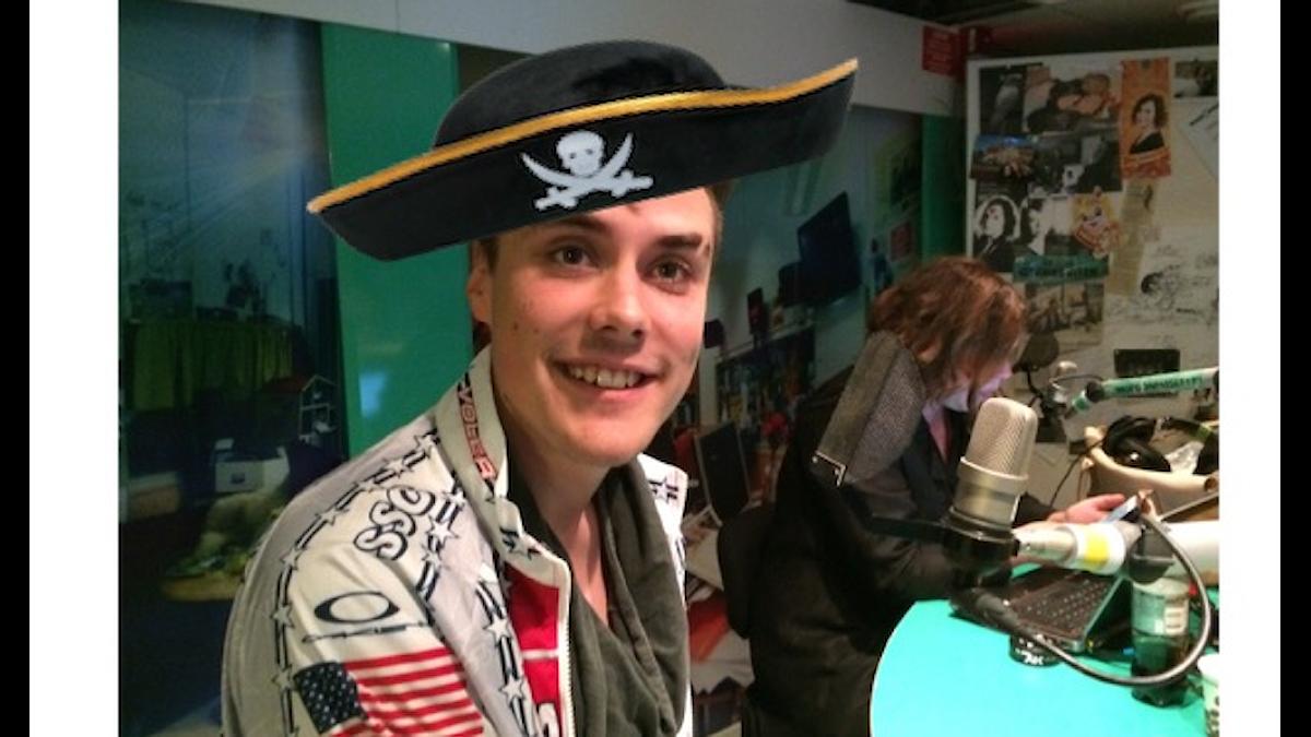 Underbart att Ossian tog #hattfredag på allvar! Foto: Isabel Eriksson