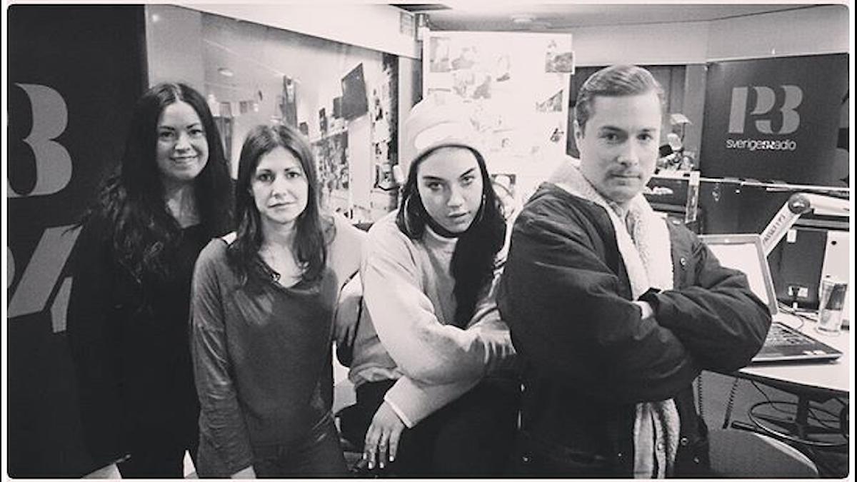 Martina,Nour, Maxida Märak & David