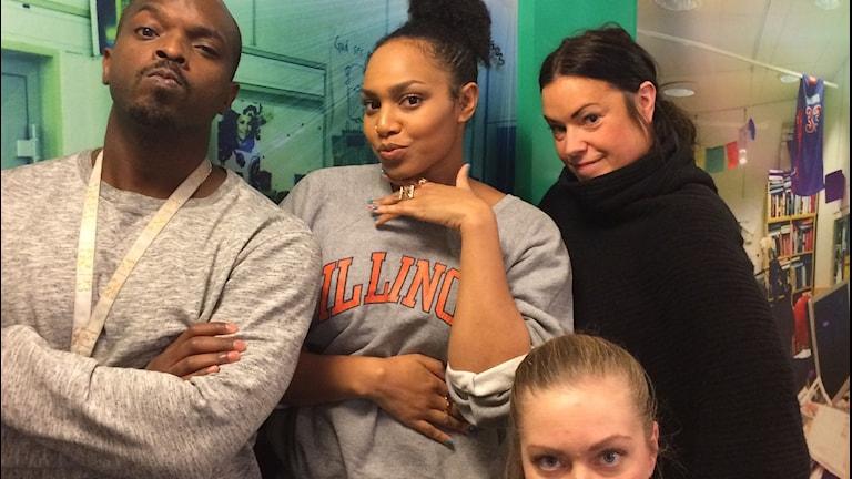 Wendy Francis kom till studion och snackade om separatism. Stark pose av Sara också va??