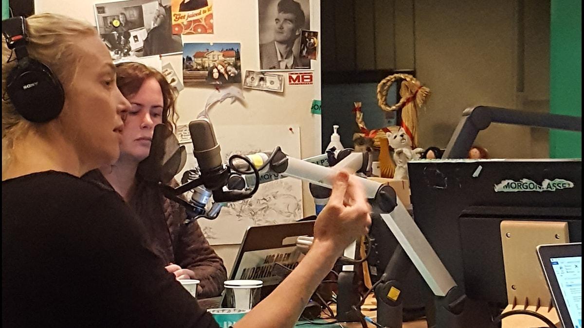 Annie Reuterskiöld är i studion!