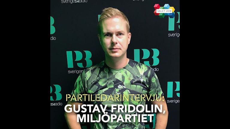 Partiledarintervju - Gustav Fridolin, Miljöpartiet