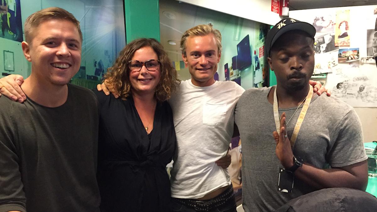 Researcher-Kalle, Hanna, Erik Adehlson och Kodjo