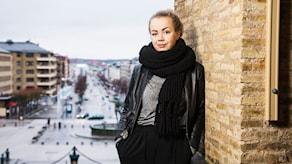 Isabelle Forsberg är programledare för P3 Om. Foto: Mattias Ahlm/Sveriges Radio