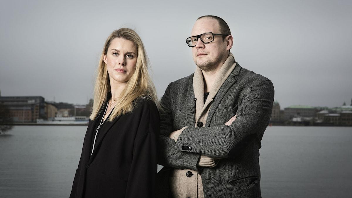 Alice Lööf och Jonatan Unge