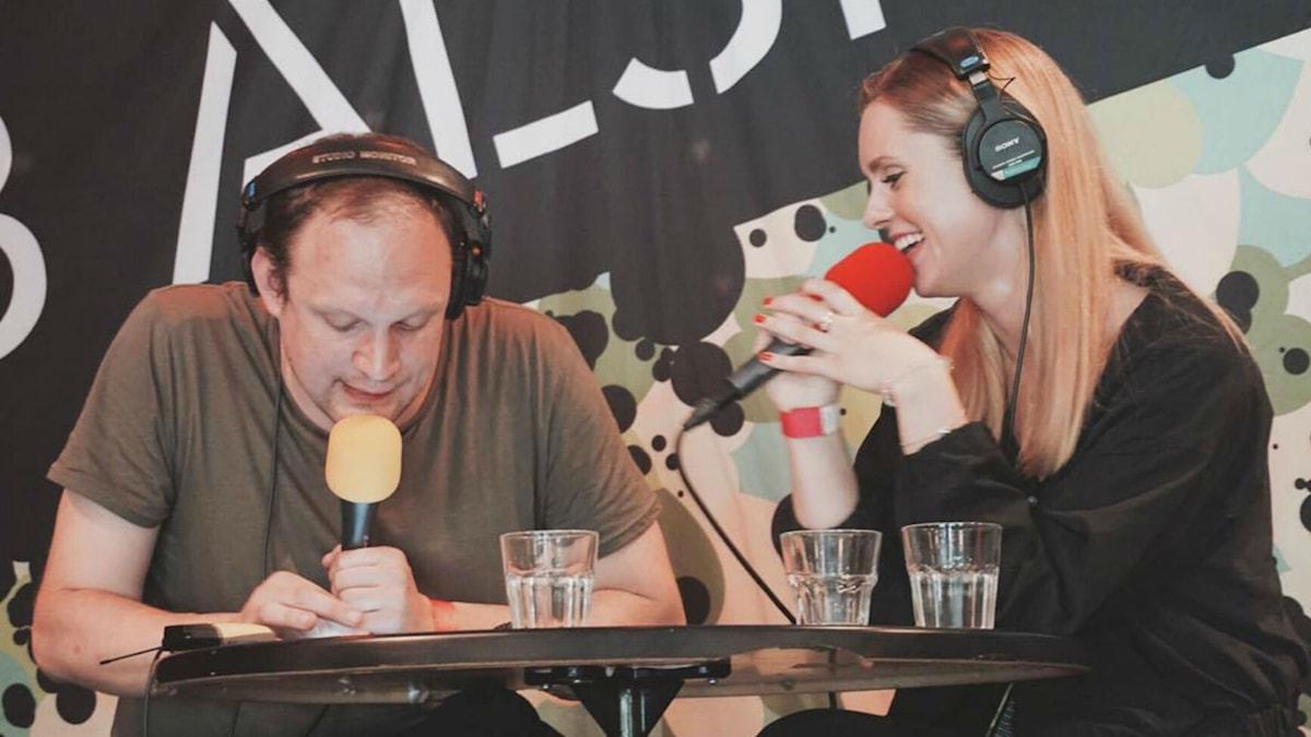 Jonatan och Alice på P3 Älskar Malmö