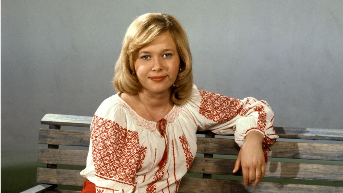 Lena Andersson slog igenom på 70-talet.