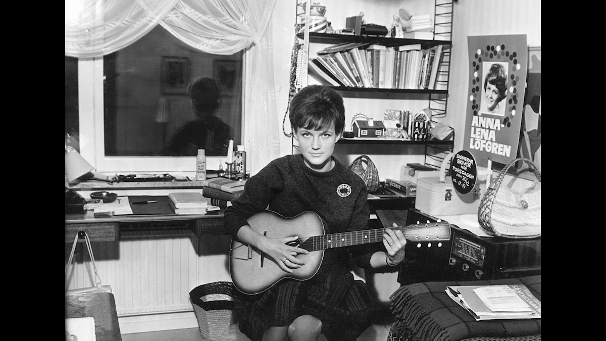 Anna-Lena Löfgren, stor tonårsidol på 60-talet