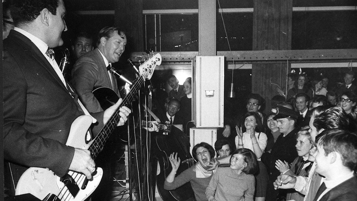 Bill Haley rockade loss i slutet av 1950-talet