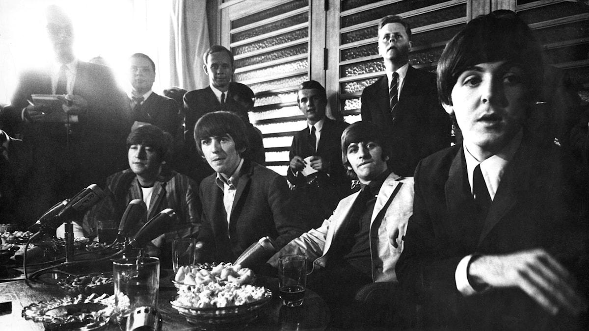 Beatles på Sverigebesök 1964